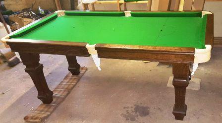 E J Riley 5ft Oak Snooker Dining Table
