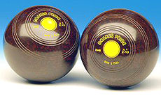 Standard Crown Green Bowls (Black or Brown)